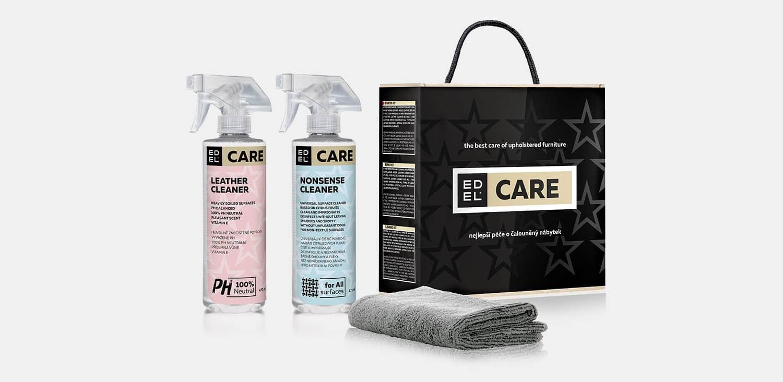 EDEL CARE | čistění látky, koženky i kůže