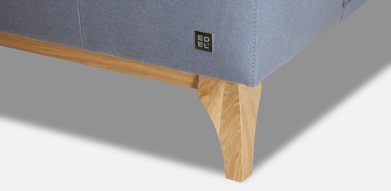 PD 15 - dřevěná dubová podnož; výška podnože: 13 cm
