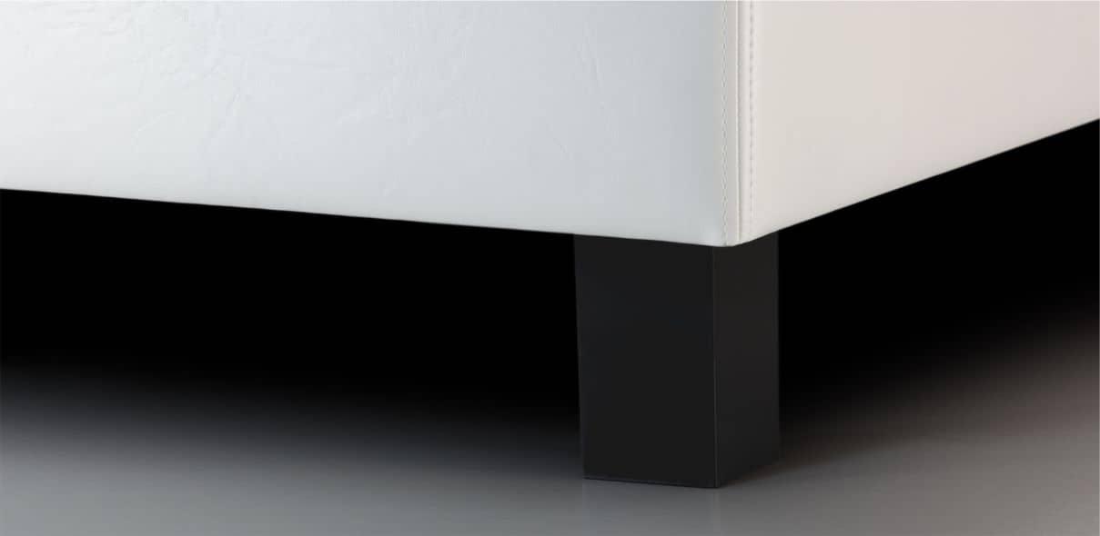 V19 - černé plastové nohy; výška noh: 10 cm