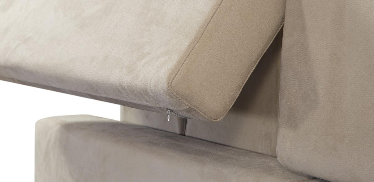 pevné stehy, kvalitní nitě a přesné vpichy – to je klíčem ke stálému držení tvaru čalouněného nábytku